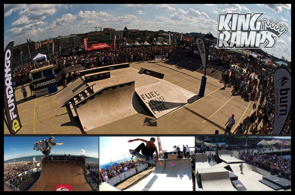 Pete King Skateboarder Ramps from King Ramps